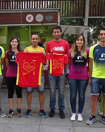 El C.D. ZAMORA CORRE correrá el próximo domingo con el Corazón por Hugo