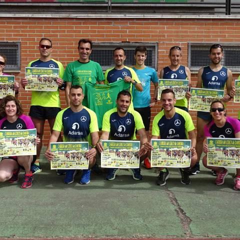 Fernando Lorenzo imparte una sesión de entrenamiento en el que participan corredores del C. D. Zamora Corre - Adarsa_22